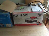 Rubi ND-180-BL 230V 50HZ 180mm Electric Tile Cutter power tool DIY Coulsdon Croydon