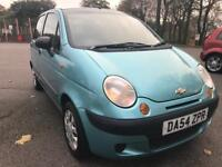 2005 (54reg) Chevrolet Matiz 1.0 SE 5dr Hatchback NEW 12 MONTH MOT FULL SERVICE HISTORY 2 KEYS swap