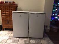 Pair underworktop Indesit Fridge and Freezer