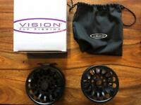 Vision Deep 11/12 Salmon Fly Reel Plus Spare Spool