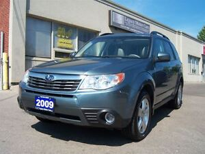 2009 Subaru Forester Limited 2.5 AWD Leather Panno Roof