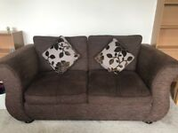 DFS Brown Sofa Bed