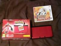 Nintendo 3DS XL with Pokémon Sun