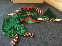 M&S elf dressing up aged 3-4