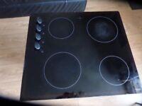 ESSENTIALS CCHOBKN13 Electric Ceramic Hob Black 4 zones