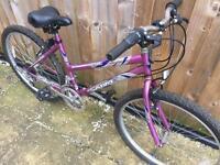 """Ladies 17"""" Sabre bike bicycle. Inc FREE lights & delivery"""