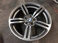 "BMW M6 Replica Single Wheels. No Cracks or Buckles. 5x120 PCD 8.5x18"" ET37 £75"