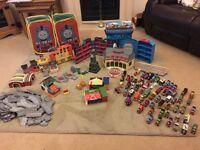 Whole set of Thomas take and play