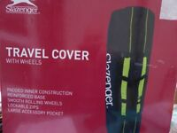 HEAVY DUTY CANVAS GOLF TRAVEL COVER BAG