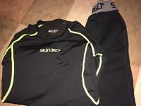 Boys Skin 360 thermal for sports, 11-12 years