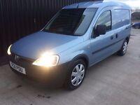 2011 Vauxhall Combo 1.7 CDTi 16v Fridge Van, 1 Owner, 12 Months MOT, 2 Keys Finance Available