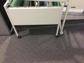5 x A4 File trolleys