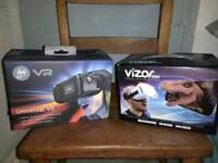 2 x virtual reality headsets, brand new in boxes