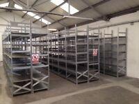 JOB LOT 40 bays supershelf industrial shelving AS NEW ( storage , pallet racking )