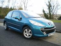 Peugeot 207 1.4 16V Sport 3dr * ONLY 61K * Full SERVICE HISTORY * Full MOT * 3 Months WARRANTY