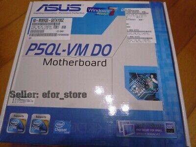 *TESTED* ASUS P5QL-VM DO LGA 775 DDR2 Intel B43 Micro ATX Intel Motherboard