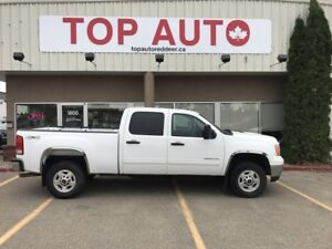 2013 GMC Sierra 2500HD SLE Power seat, 4x4!