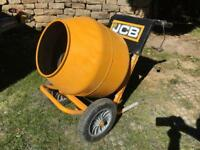 ~~~~~Now SOLD ~~~~Cement Mixer, JCB LC140 Electric, like new