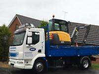 MINI DIGGER GROUNDWORK LORRY HIRE DRIVEWAY FOUNDATIONS DRAINAGE Ect