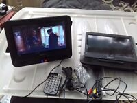 2 x In car DVD player's