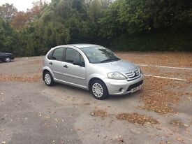 Diesel Citroen C3 2006 reg , £30 a year tax , long mot ,first to see will buy ,px welcome
