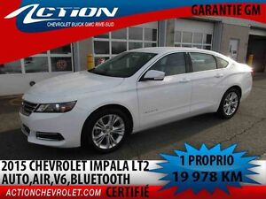2015 CHEVROLET IMPALA LT 2 LT,V6,AUTO,AIR,BLUETOOTH