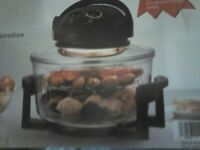 halogen oven boxed £25