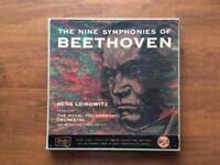 Beethoven 9 symphonies classical vinyl