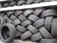 Part worn tyres / top brands quality tyres / london barking