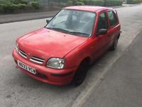 Nissan Micra 998cc short mot only 58 k very good for pizza delivery