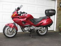 Honda Deauville NTV 650 motor cycle