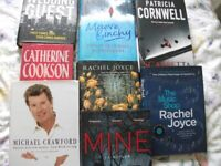 Books - Hardback - all great condition Job lot of 8, various authors