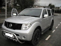 NISSAN PATHFINDER 2005 TOP OF THE RANGE WITH EXTRAS
