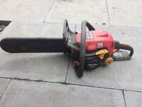 Home lite 33cc petrol chainsaw