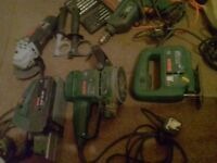 Joblot of power tools