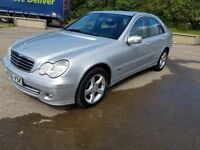 2006 mercedes c220 cdi automatic avantgarde new MOT very good condition