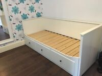 Ikea Hemnes day bed with mattresses