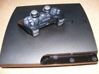 Playstation 3 Slim Model with 120 Gb Hard Drive