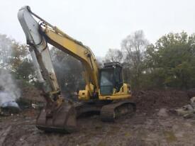 Komatsu PC210lc steel tracked excavator