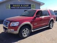 2007 Ford Explorer Eddie Bauer   7PASS    LEATHER   ROOF  
