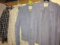 Abercrombie and Fitch men's large muscle fit shirts