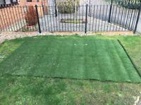 Artificial lawn offcut