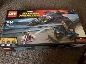 2 x unopened Lego sets marvel