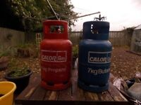 Are you looking to upgrade your gas bottles ? I have a Propane and a Butane for sale :