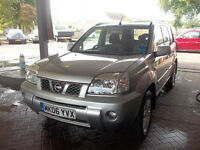 2006 06 NISSAN XTRAIL 4WD 2,2 TURBO DIESEL MOT,D MARCH 2017 ONLY £2995