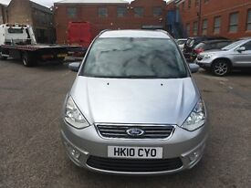 2010 Ford Galaxy Auto Diesel Good Runner with Spare key and long mot