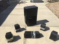 Panasonic Surround sound 5 x speakers + Sub Woofer