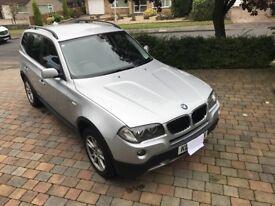 BMW X3 SE 177bhp. 2.0ltr diesel Automatic 4x4 2008 reg