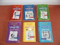 Diary of a Wimpy Kid bundle, 6 off.