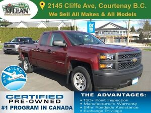 2014 Chevrolet Silverado 1500 W/T 1 Owner Accident Free